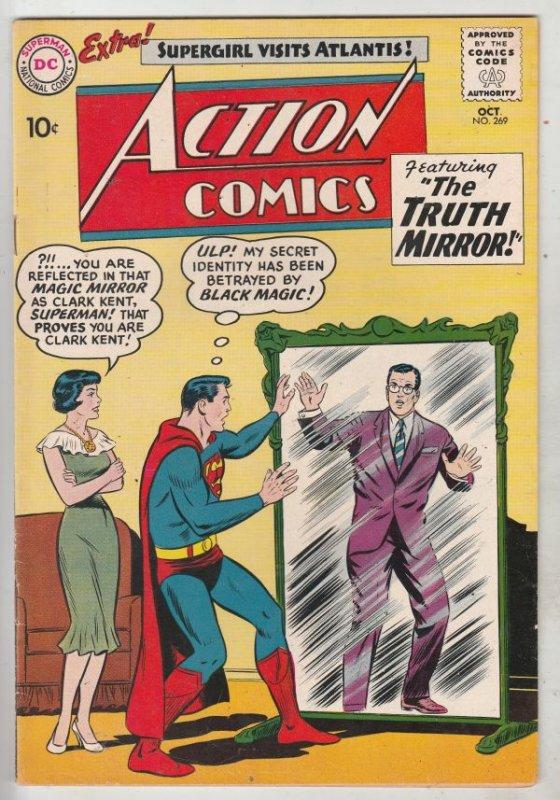 Action Comics #269 (Oct-60) VF/NM High-Grade Superman, Supergirl