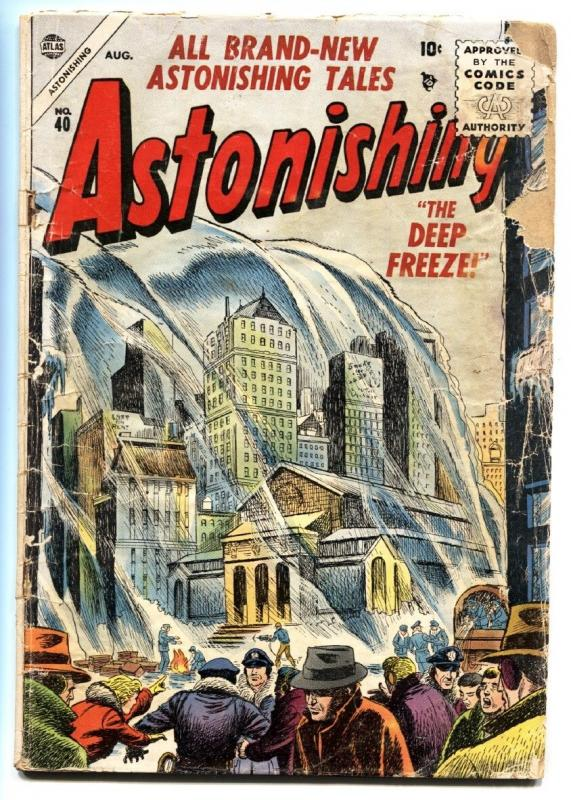 Astonishing #40 1955-Atlas-Joe Maneely-Horror-FR