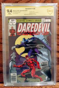Daredevil #158 - CGC 9.4 SS Frank Miller