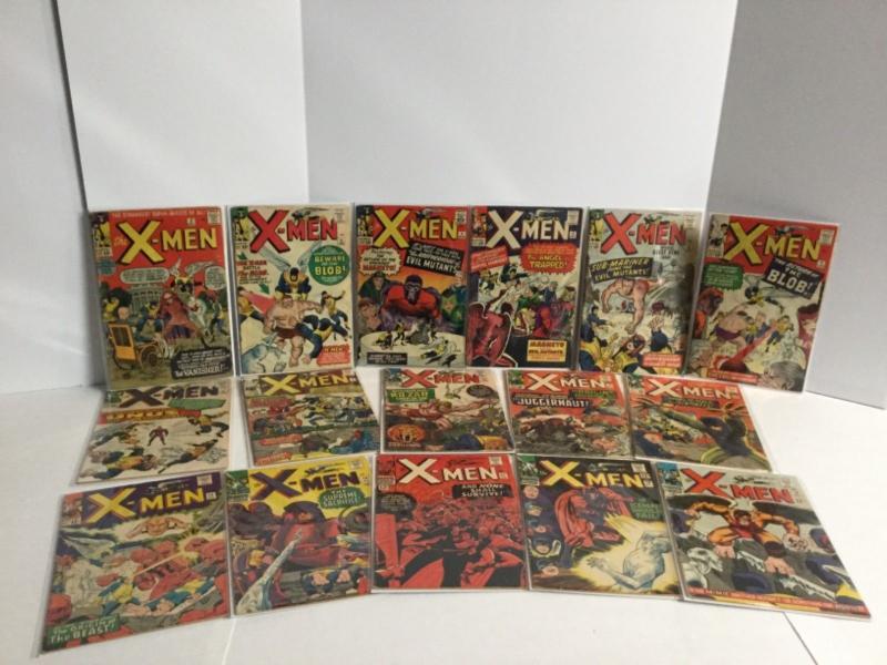 Uncanny X-men 1 2-600 Straight Unbroken Run 4 11 12 14 28 58 94 101 129 221 266