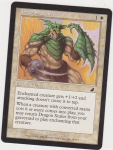 Magic the Gathering: Scourge - Dragon Scales
