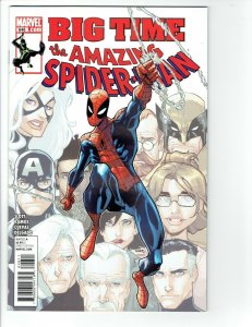Amazing Spiderman #648  NM 1st Stealth Suit Big Time