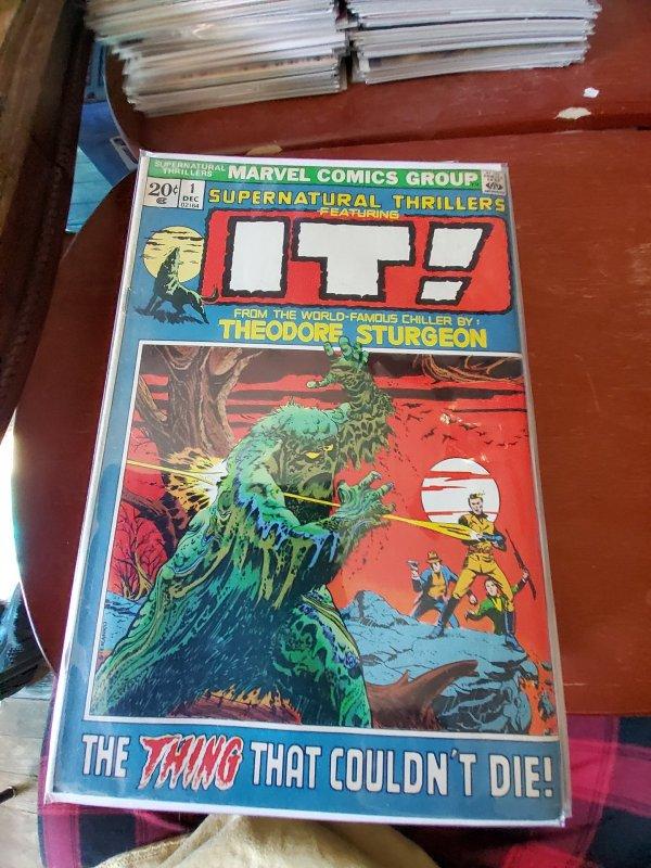 Supernatural Thrillers #1 (1972)