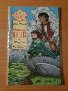 Classics Illustrated #13 Emily Bronte Wuthering Heights ~ NEAR MINT NM ~ 1990