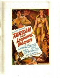 Lot Of 2 Post Cards Tarzan & The Leopard Woman + Buck Jones Silver Spurs JL35
