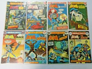 Brave and the Bold lot #100 to #149 36 different books average 5.0 range (1972)
