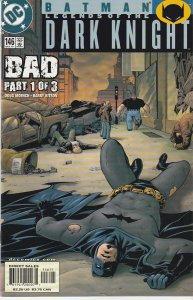 Batman – Legends of the Dark Knight # 146  Bad Part 1