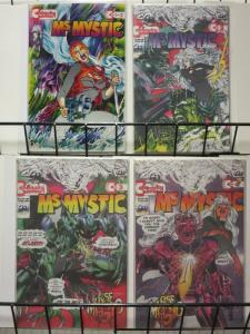 MS MYSTIC(10/93 CO) 1-4  Neal Adams  'Rise Of Magic'