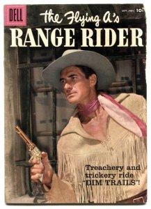 The Flying A's Range Rider #19 1957- Dell Western- Jock Mahoney G/VG
