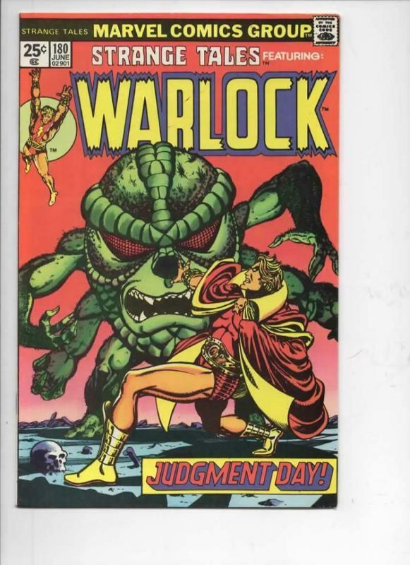 STRANGE TALES #180, VF+, Jim Starlin, 1st Gamora, 1975, Warlock, Marvel