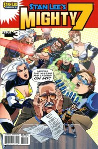 Mighty 7 (Stan Lee's…) #3 VF; Archie   save on shipping - details inside