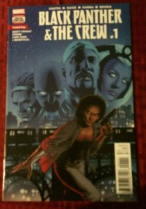 Black Panther and The Crew #1 Storm Luke Cage Guice 2017 NM Marvel