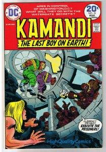 KAMANDI #15, VF, Jack Kirby, Last Boy on Earth, 1972, more JK in store