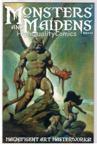 MONSTERS & MAIDENS #2, Limited, VF+.Mike Hoffman, 2003, more indies in store