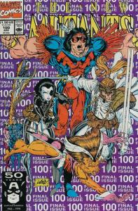 New Mutants, The #100 VF/NM; Marvel | save on shipping - details inside