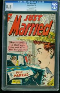 Just Married #1-CGC 8.5 Highest Graded- Romance- Southern States 1197194026