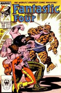 Fantastic Four (1961 series) #303, VF+ (Stock photo)