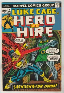 Luke Cage Hero for Hire #9 (May-73) NM- High-Grade Luke Cage