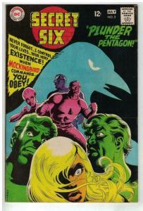 SECRET SIX 2 VG-F July 1968 COMICS BOOK