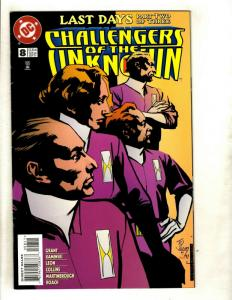 Lot Of 9 DC Comics Challengers of the Unknown # 8 9 10 11 13 14 16 17 18 J343