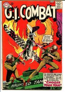 G.I. COMBAT #110-HAUNTED TANK-DC WAR VG