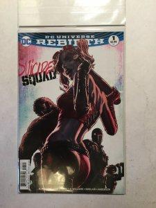 Suicide Squad Rebirth 1 Plus Variant Near Mint Nm Dc Comics