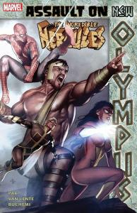 Incredible Hercules Assault on Olympus Premiere Hardcover (Marvel) New/Sealed!