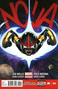 Nova (5th Series) #6 VF/NM; Marvel | save on shipping - details inside