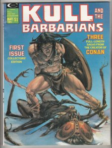 Kull The Barbarian Magazine #1 (May-75) NM- High-Grade