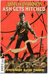 ARMY OF DARKNESS Ash Gets Hitched #4, NM-, Bruce Campbell, 2014, more in store