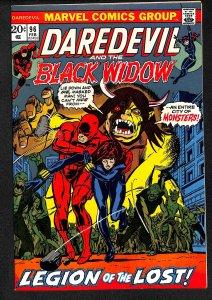 Daredevil #96 VF/NM 9.0 Black Widow! Marvel Comics