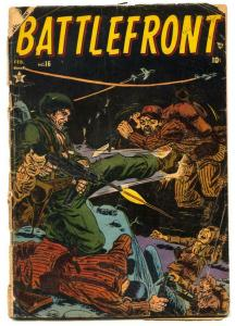 Battlefront #6 1954- Commies- Atlas War comic G
