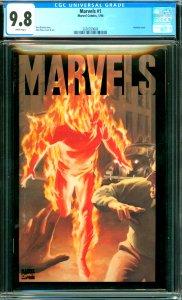 Marvels #1 CGC 9.8