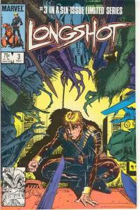 Longshot (1985 series) #3, VF+ (Stock photo)