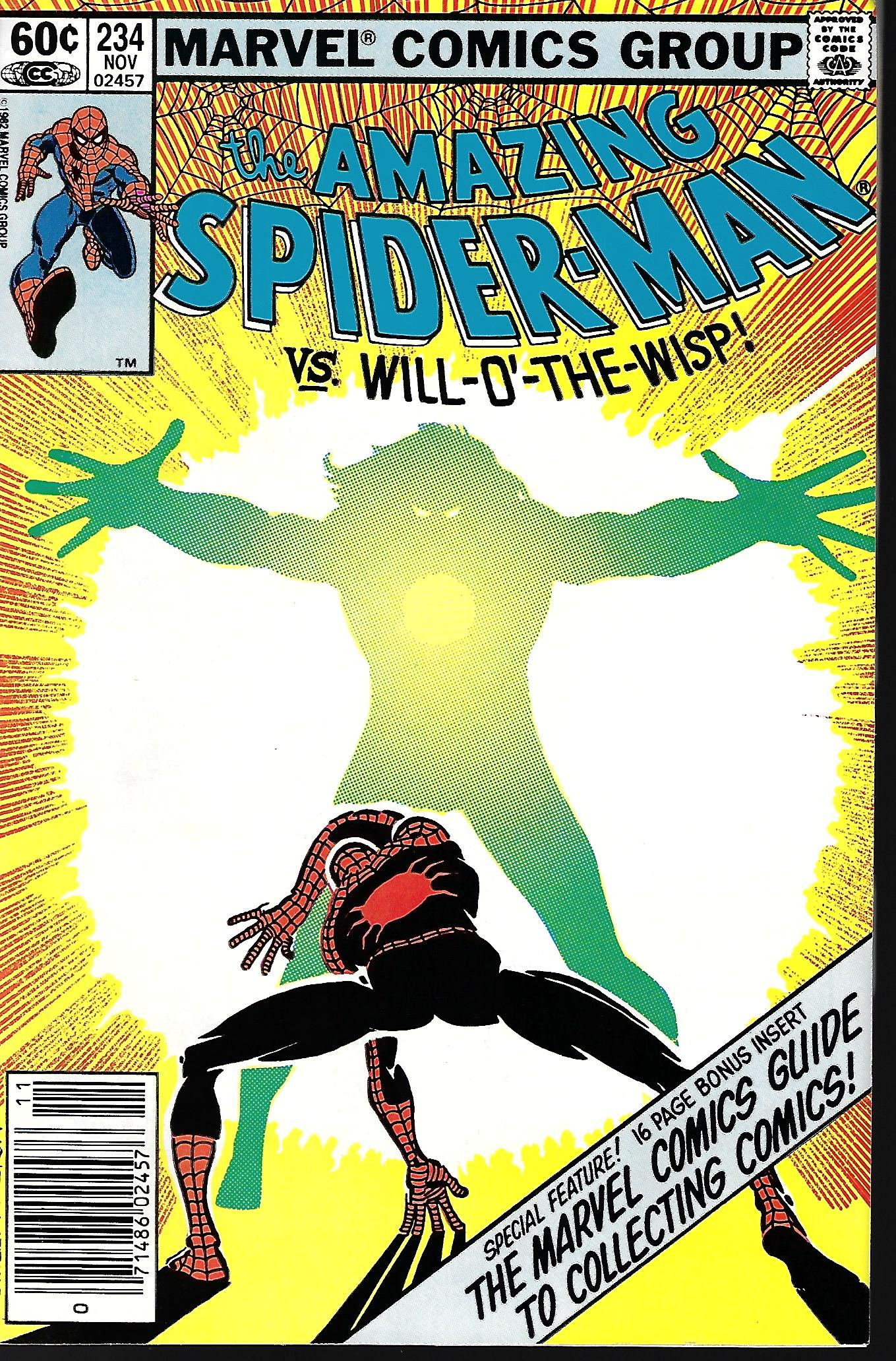 Marvel Tales #234 FN 1990 Stock Image