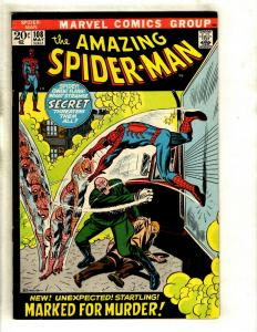 Amazing Spider-Man # 108 VF Marvel Comic Book Green Goblin Mary Jane GK3