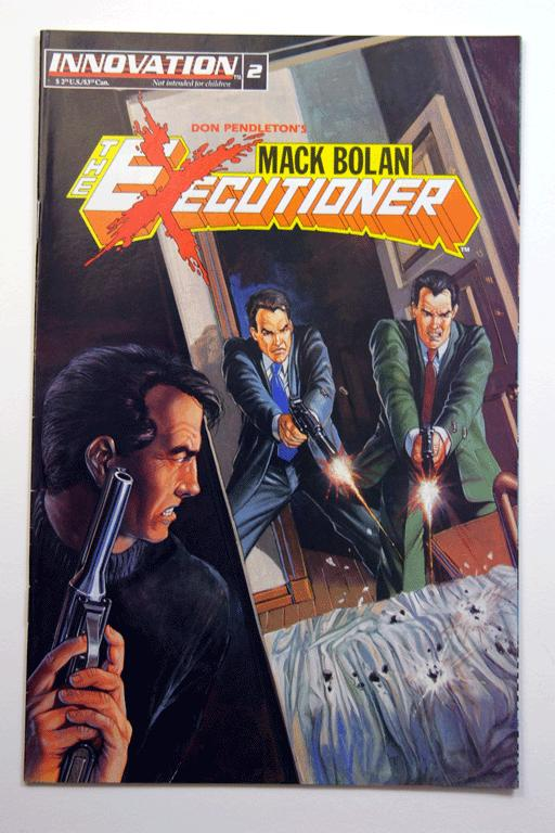 Mack Bolan: The Executioner #2 August 1993