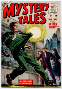 Mystery Tales #36 (1955) QUALIFIED 7.0  art by Bernie Krigstein, Joe Sinnot