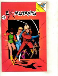 Lot of 13 Eternity Publishing Comics Ex-Mutants 1 1 5 6 8 9 10 1 2 3 6 7 1 DS2
