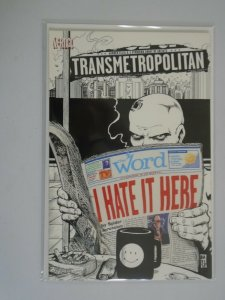 Transmetropolitan I Hate It Here #1 8.0 VF (2000 Vertigo)