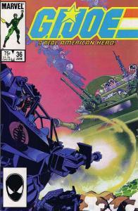 G.I. Joe, A Real American Hero #36 VG; Marvel | low grade comic - save on shippi