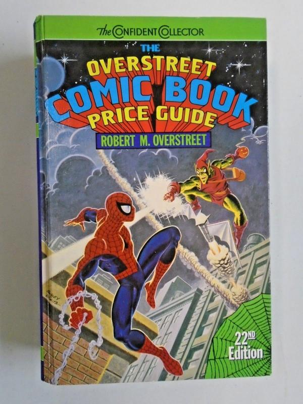 Overstreet Comic Book Price Guide HC #22, VF? Used (1992)