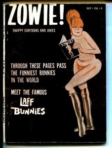 Zowie! 7/1966-Laff Bunnies-4th issue-infinity cover-FN+