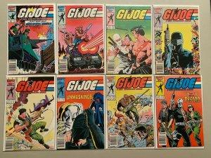 Marvel GI Joe comic lot 40 different from #50-121 6.0 FN (1986-92)
