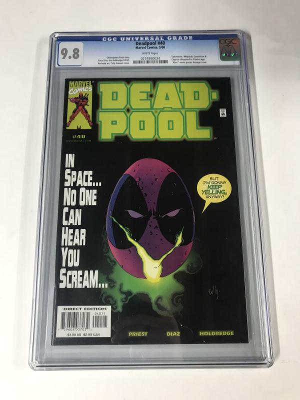 Deadpool (1997 series) #40 CGC 9.8