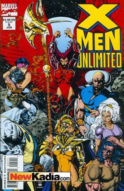X-Men Unlimited (1993 series) #5, NM (Stock photo)