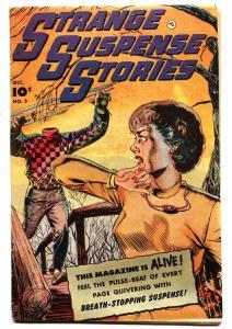 Strange Suspense Stories #3 1952-PCH-Decapitation cover!