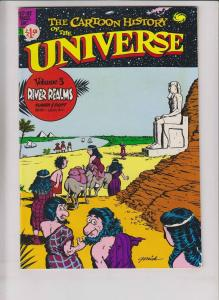 Cartoon History of the Universe #3 VF/NM (2nd) larry gonick - ancient egypt