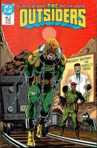 Outsiders (1985 series) #11, VF+ (Stock photo)