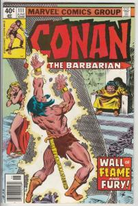 Conan the Barbarian #111 (Jun-80) NM Super-High-Grade Conan the Barbarian